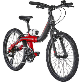 ORBEA Grow 2 7V Niños, black/red